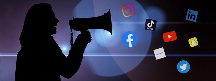 Megaphone_SocialMedia_NPO Kommunikation